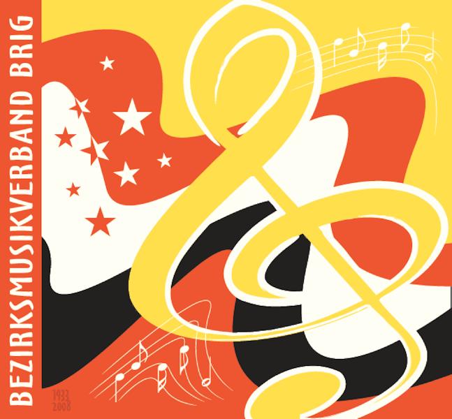 Logo Bezirksmusikverband  Brig