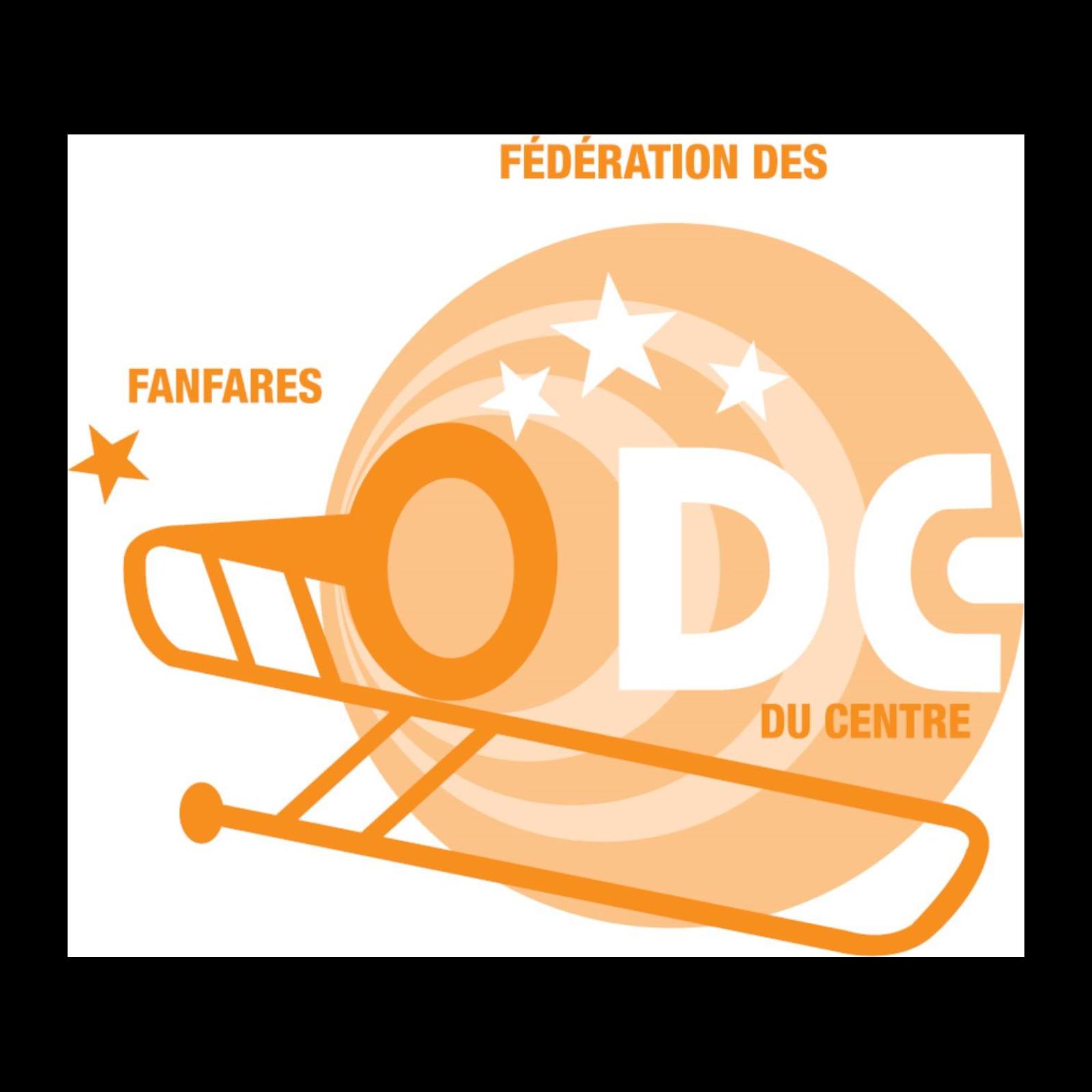 Logo Fédération des  Fanfares Démocrates-Chrétiennes du Centre